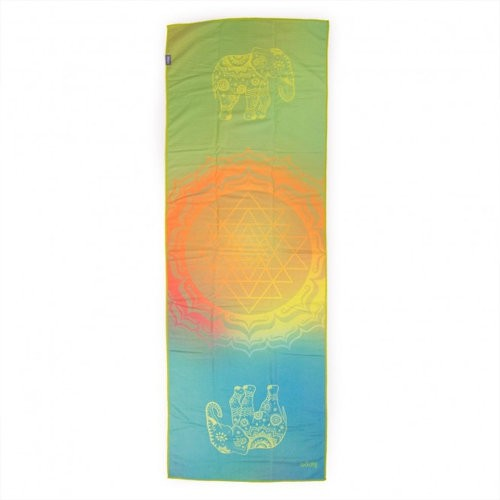 Yogamat Handdoek Grip All Is Om